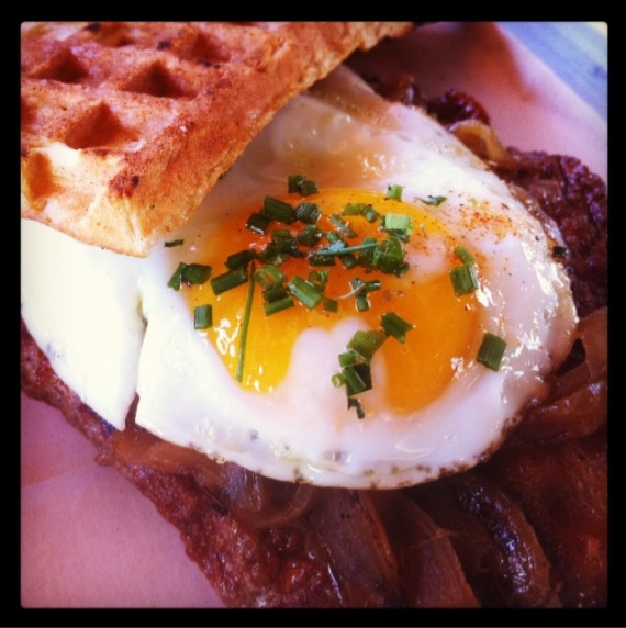 Waffle Waffle Sandwich